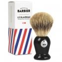 Le Blaireau Barbier en vrais poils naturels de blaireau