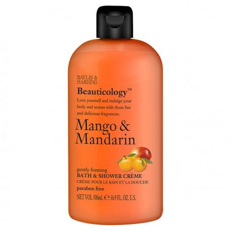 Crème pour le bain et la douche mangue/mandarine