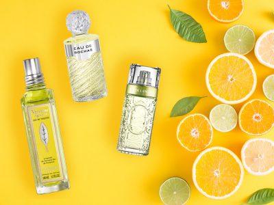 Sélection de parfums hespéridés pour femme et pour homme