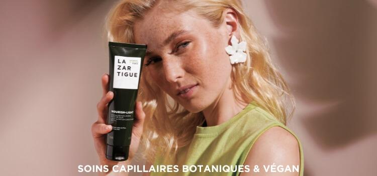 soin cheveux vegan lazartigue