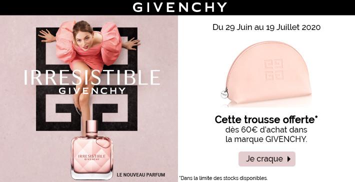 Cette trousse Givenchy offerte !