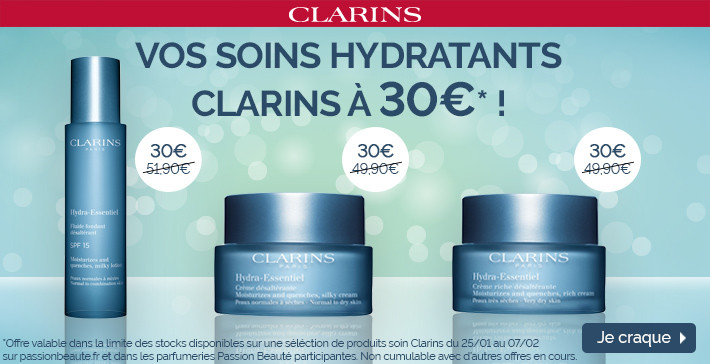 Offres Clarins