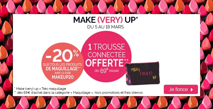 Offre maquillage
