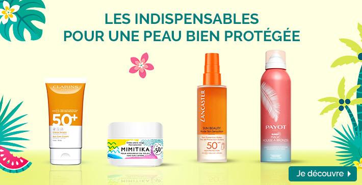 Les indispensables pour une peau bien protégée