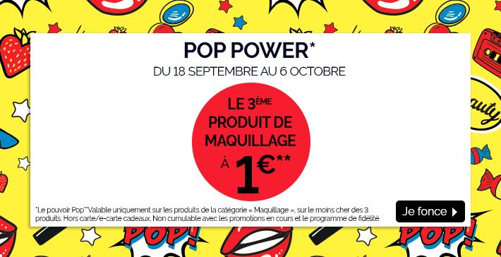 Le 3e produit de maquillage à 1€