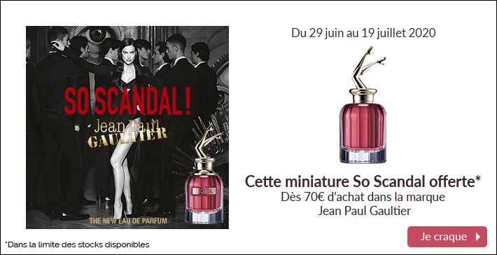 Cette miniature So Scandal offerte !