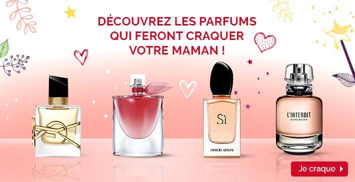 Découvrez les parfums qui feront craquer votre maman !